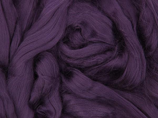 Viskose, zwetschgenviolett sehr fein im Band