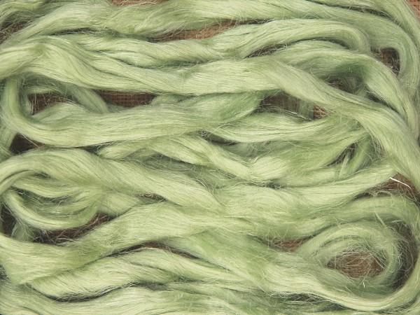 Leinen (bunt) - blassgrün im Band