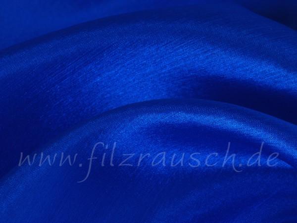 Pongé 5 - königsblau 90 cm breit pro 1 Meter