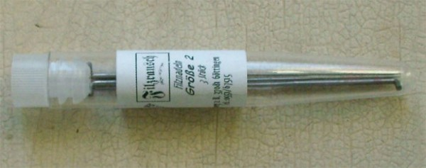 Filznadeln - Größe 2, mittel - universal, 3 Stück/Packung
