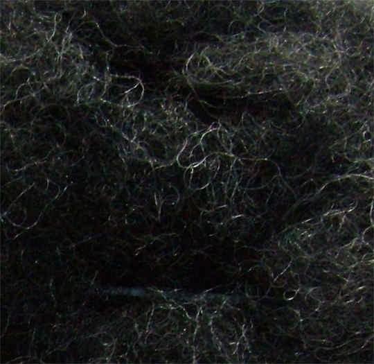 Merinowolle (grau) - grau 80 extra fein im Vlies