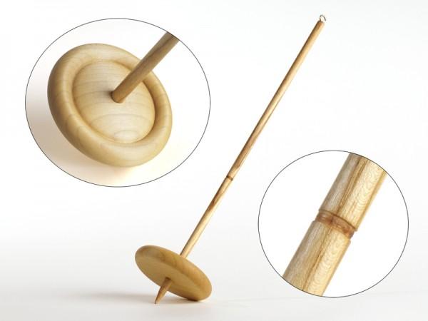 Filzrausch Handspindel Drehwurm geölt 80mm