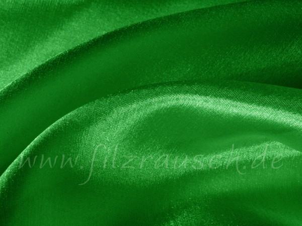 Pongé 5 - blattgrün 90 cm breit pro 1 Meter