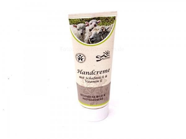 Saling Bio Handcreme mit Schafmilch & Vitamin E, 75 ml (9311)