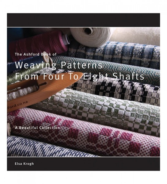 Ashford book of weaving patterns from 4 to 8 shafts, Elsa Krogh ABWPF (Literatur)