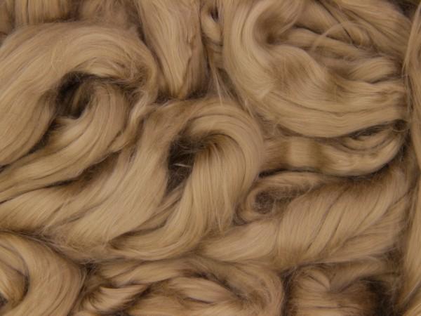 Baumwolle, dunkelblond sehr fein im Band