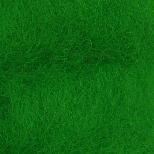 Merinowolle (bunt) - saftgrün extra fein im Vlies