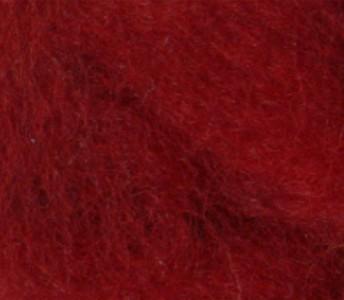 Merinowolle (bunt) - purpurrot sehr fein im Band