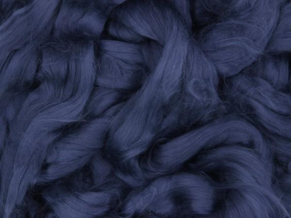Baumwolle, matrosenblau sehr fein im Band