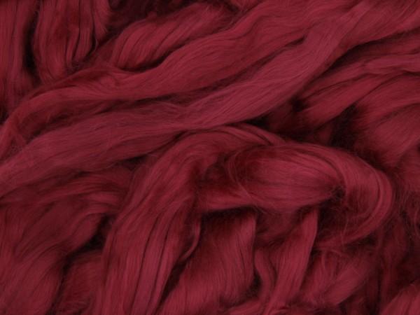 Baumwolle, pfingstrosenrotviolett sehr fein im Band