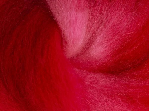 Filzrausch Farbpulver WOSEPO Warmes Rot