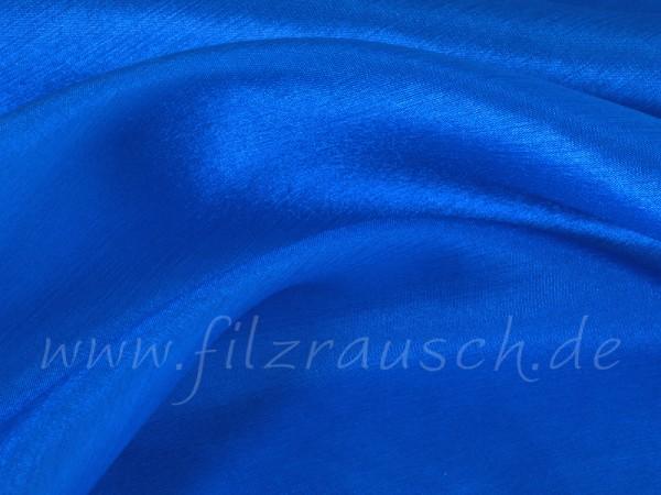 Pongé 5 - ritterspornblau 90 cm breit pro 1 Meter