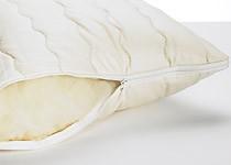 Kopfkissen mit Reißverschluss - 40 x 80 cm 500g