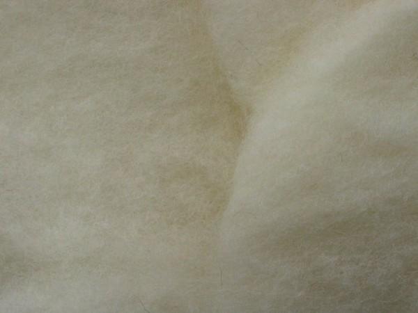 Merinowolle, bio (kbT) - weiß-gelblich fein im Vlies