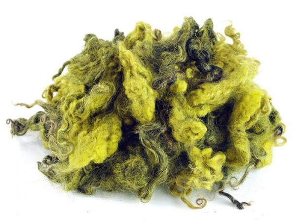 Skan. Wollocken - hellgrün mittelfein