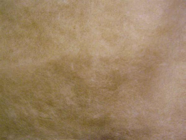 Sonderposten -20 % - 100g Babykamelhaar / Merinowolle - beigebraun im Vlies