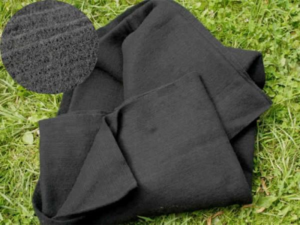 Nadelfilzvlies - schwarz 140 cm breit pro 1 Meter im Vlies