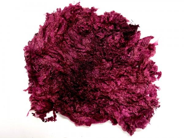Sonderposten Toupetlocken - lila mittelfein 1kg - gefärbt
