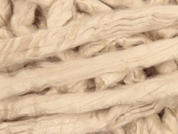 Minzfaser-Viskose - beigeweiß im Band