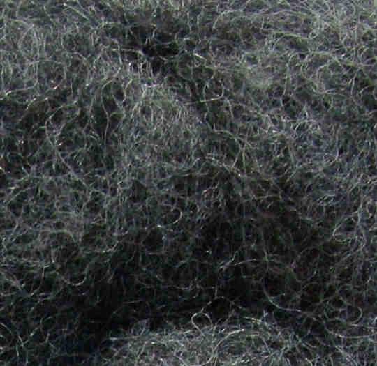 Merinowolle (grau) - grau 60 extra fein im Vlies