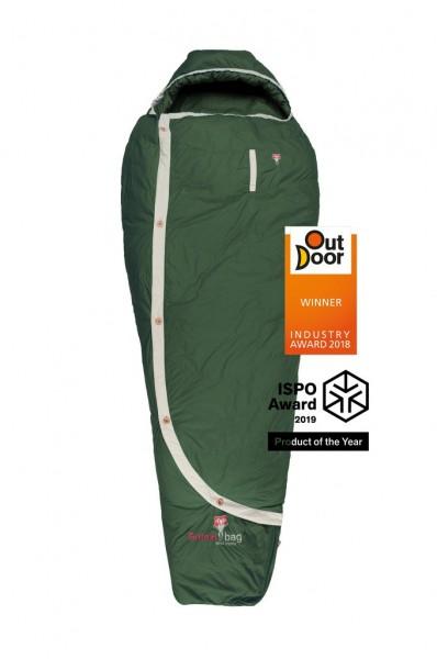 Biopod DownWool Nature 185 / +1°C 1650g mit 100% natürlichen Materialien Füllung:Wolle/Daune